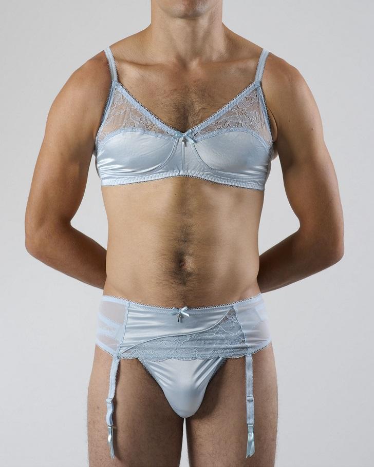 Guys who wear womens lingerie
