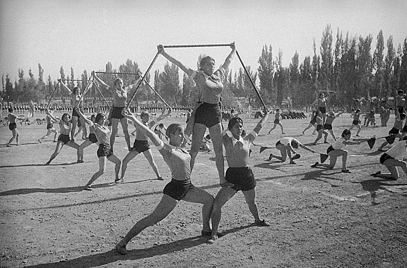 Редкие кадры жизни в СССР 20-х и 30-х годов