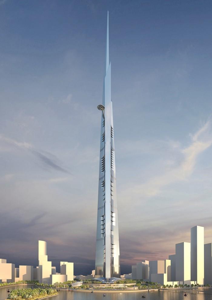 Королевская башня, превышающая самое высокое здание в мире, «Бурдж-Халифа» в Арабских Эмиратах, на 167 метров, строится в Саудовской Аравии и будет первым зданием на планете, чья высота близится к километру. В проекте за 1,2 млрд долларов, расположенном в Джидде, разместятся роскошные кондоминиумы, офисные помещения, обсерватория, отель Four Seasons и самая высокая в мире терраса на 157-м этаже (еще довольно далекая от верхушки здания, между прочим). Возведение небоскреба официально началось в прошлом году, здание должно быть завершено в 2019 году.