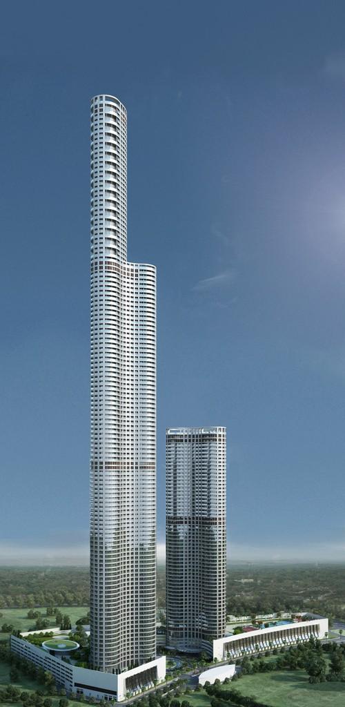 Когда в следующем году строительство завершится, 117-этажный небоскреб World One станет самым высоким жилым домом на планете и, несомненно, самым высоким зданием в Мумбае, почти в два раза превышающим 61-этажную Императорскую башню, в настоящее время обладающую последним титулом. World One станет домом для некоторых богатейших жителей Мумбая и будет включать 300 роскошных трех- и четырехкомнатных апартаментов (стоимость начинается от 1,5 млн долларов) с дизайном от студии «Armani/Casa» Джорджио Армани. Забавно, но World One не сможет долго удерживать титул самого высокого здания в Мумбае, поскольку строящаяся Индийская башня будет иметь 126 этажей.