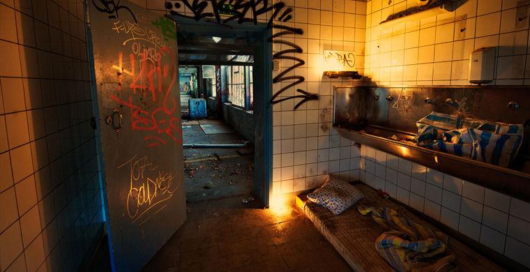У шведському місті Гетеборг готель Faktum пропонує відчути себе бездомним.
