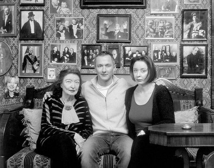 Анастасия Вертинская с мамой и сыном