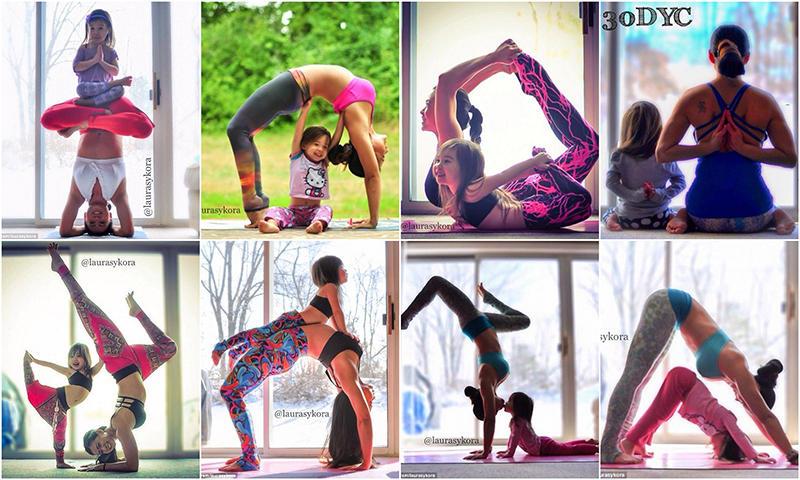 Йога «Дочки-матери»