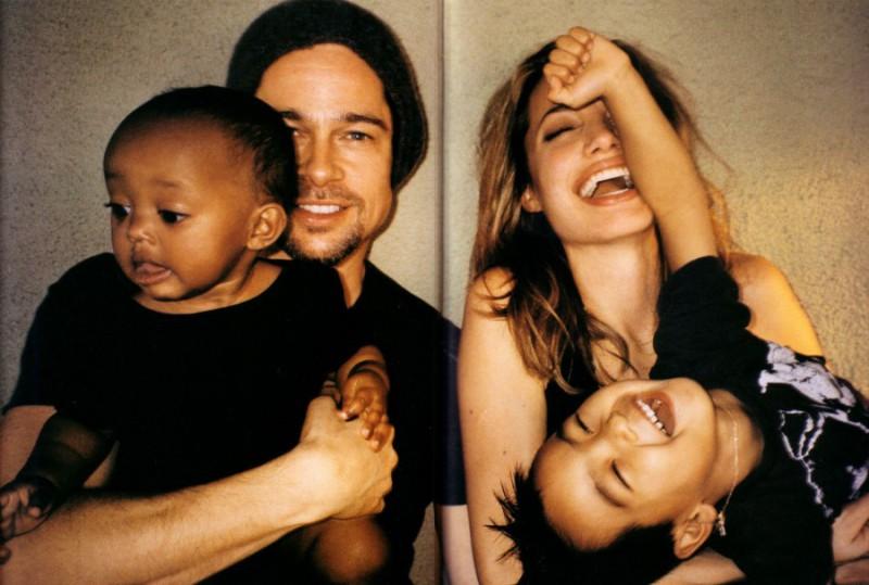 Как самая звездная пара голливуда воспитывает своих детей