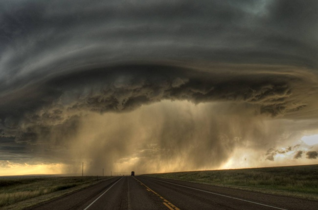 Дождь в штате Монтана, США
