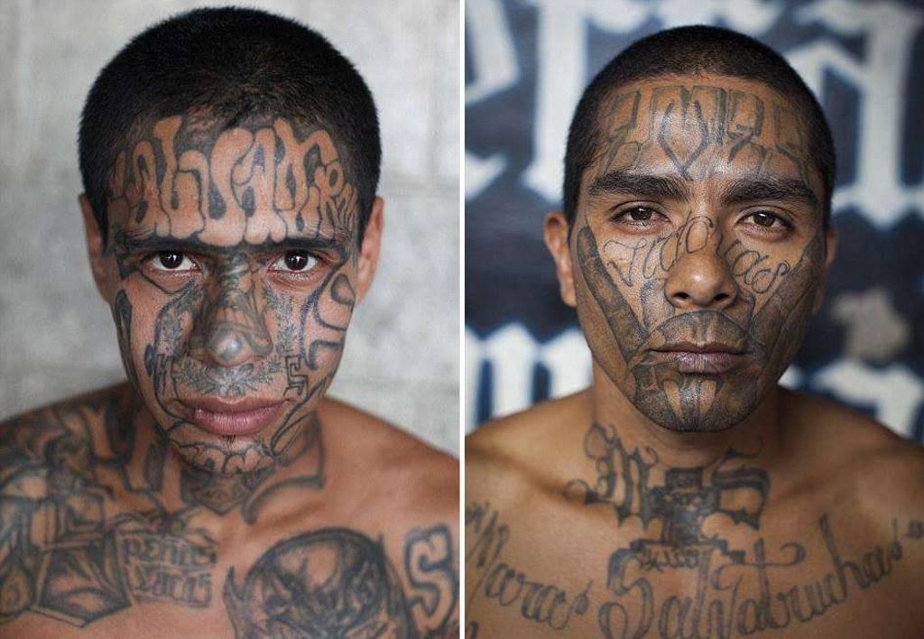 Портреты заключенных самой опасной тюрьмы в мире