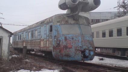 Реактивный поезд. Сделано в СССР