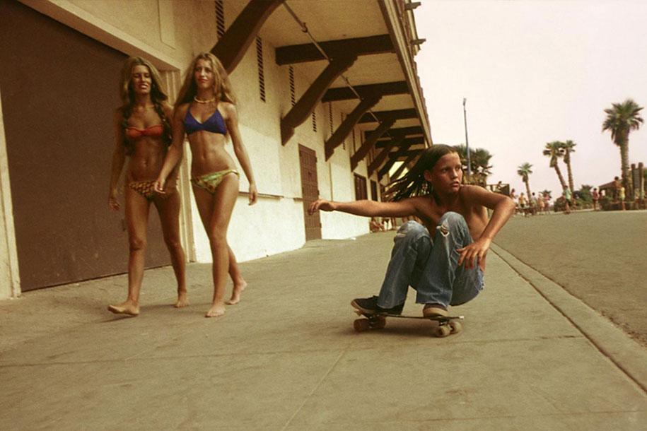 Калифорнийские скейтбордисты 70-х годов в объективе Хью Холланда