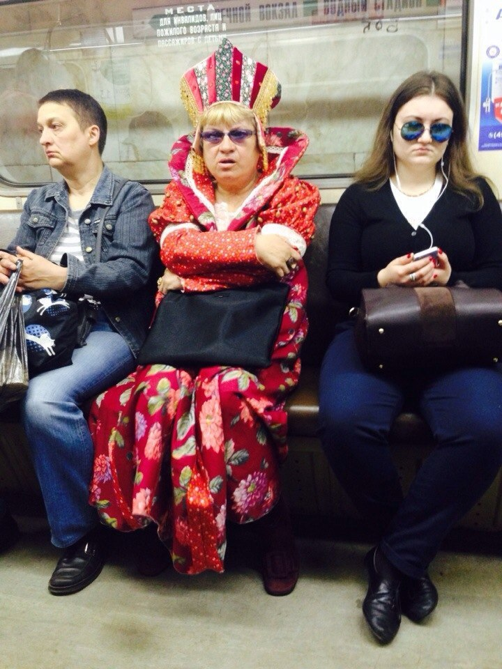 Модные тенденции московского метрополитена