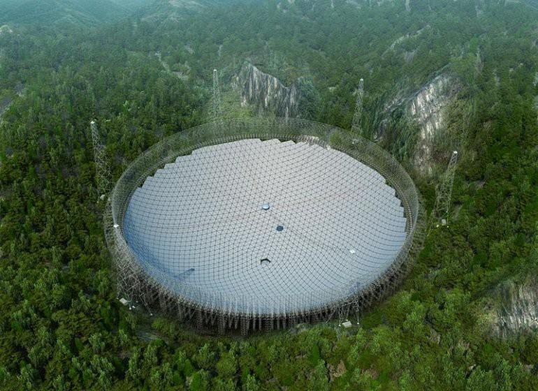 Китай строит самый большой в мире телескоп