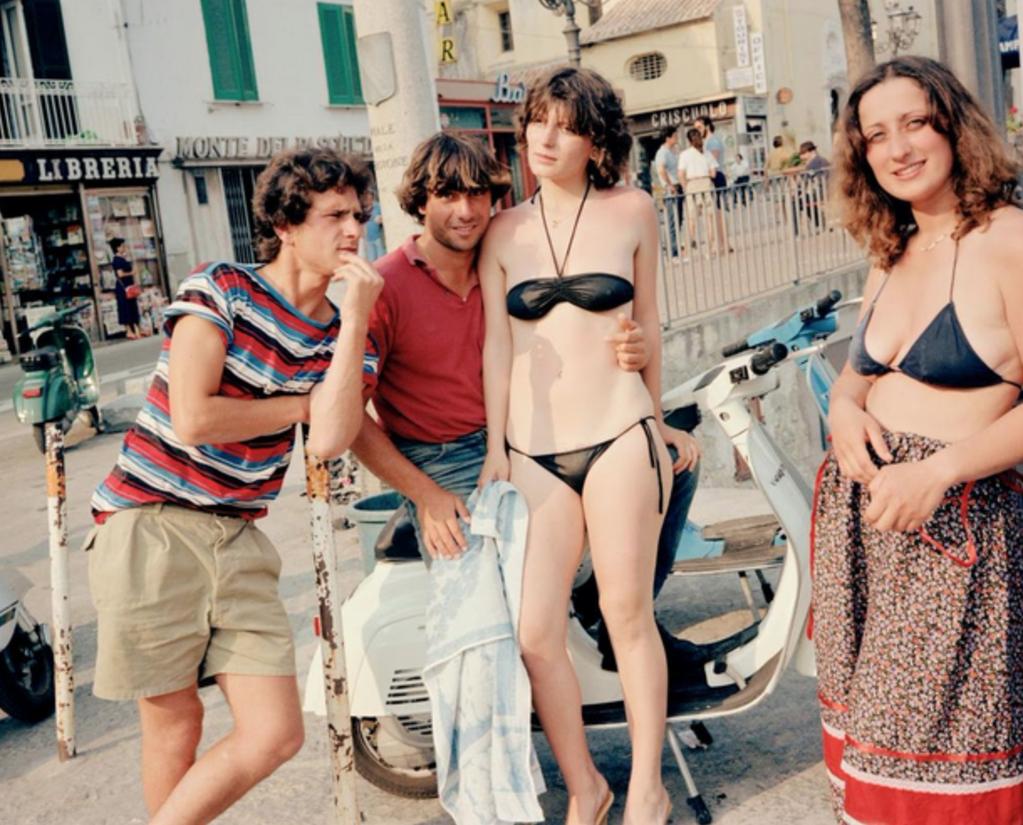 Жаркое лето в городе. Италия. Начало 80-х.