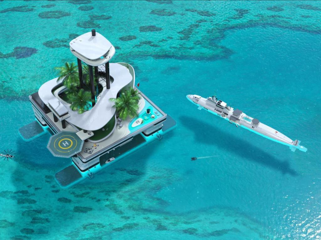 Яхты – вчерашний день. Теперь у миллиардеров в моде передвижные острова