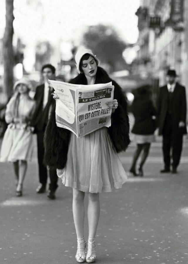 Париж, 1920 год.