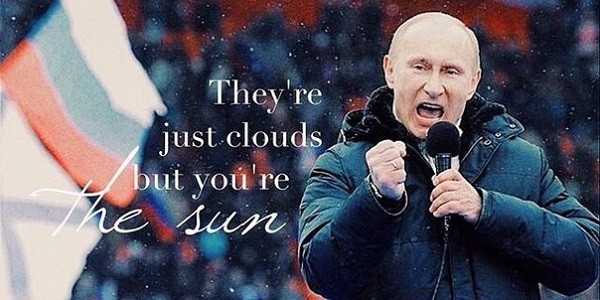 «Мотивирующий» Путин стал хитом Instagram