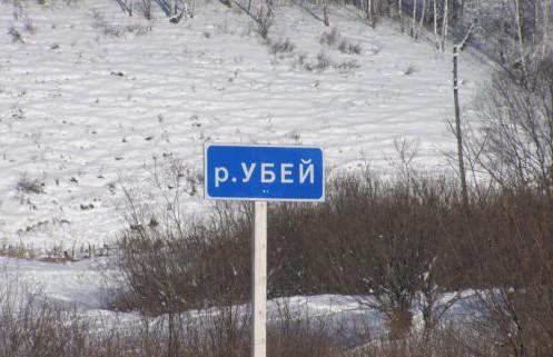 Река в Красноярском крае