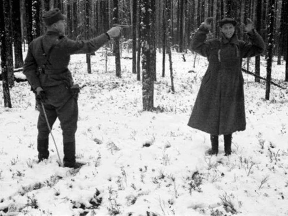 Шокирующие кадры Второй мировой войны