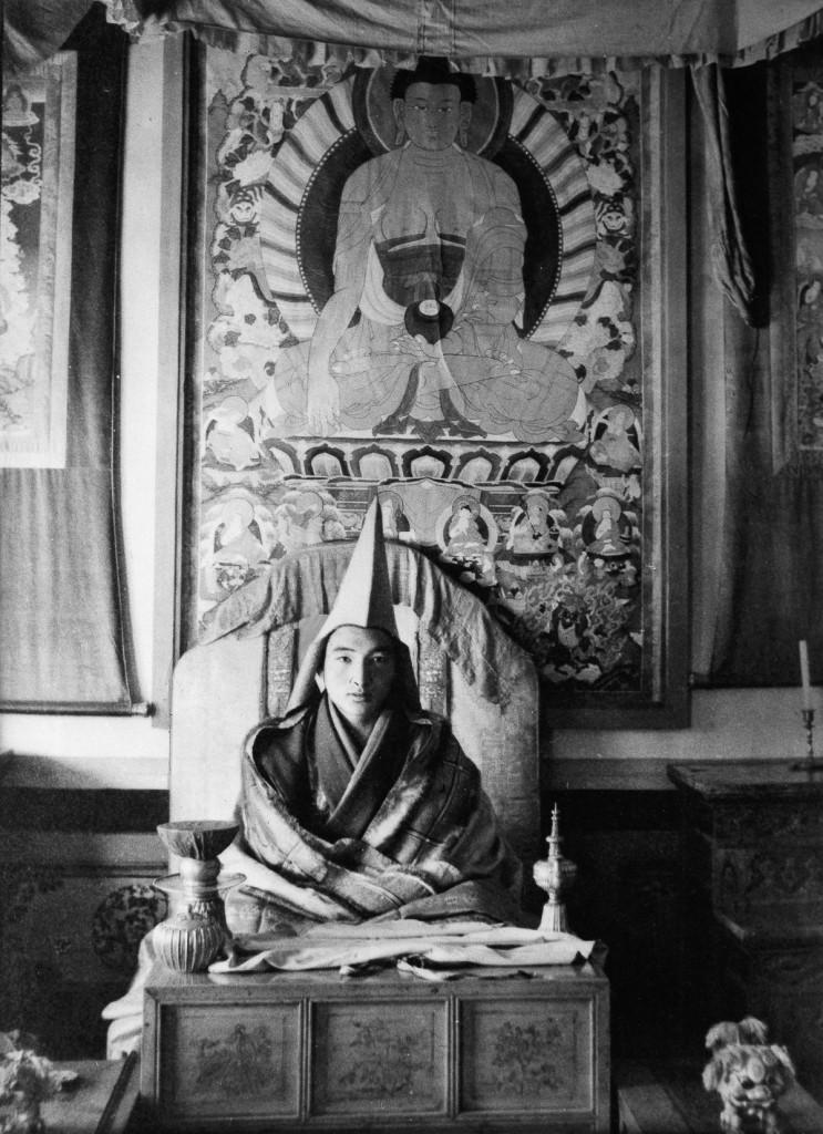 Далай–лама XIV, Тибет , 1950 год.