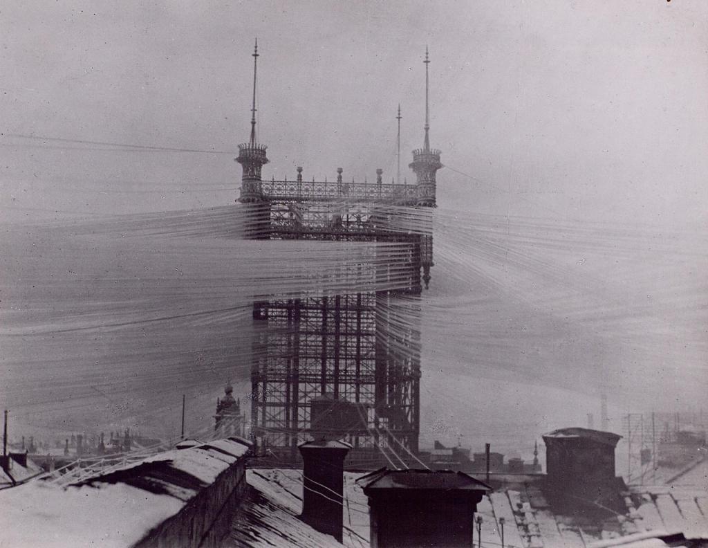 Телефонная вышка, Стокгольм. 1890–е.
