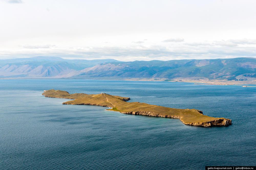 Остров Огой — это самый большой остров в Малом Море. Его длина — 3 км.