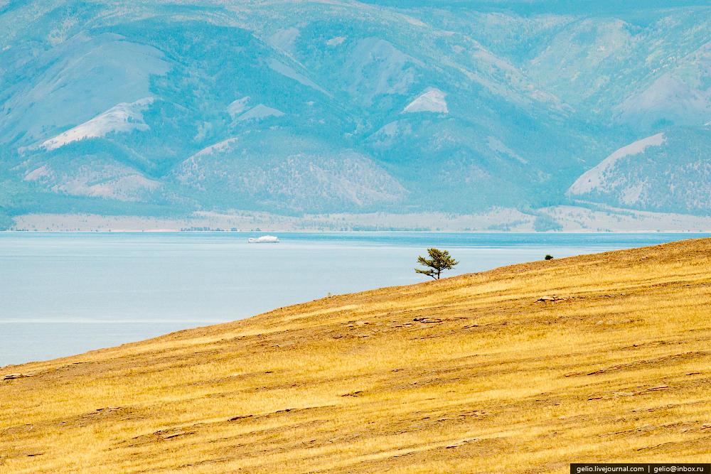 По суммарному количеству засушливых дней Ольхон можно сравнить с засушливыми районами Средней Азии: на острове всего 48 пасмурных дней в году.