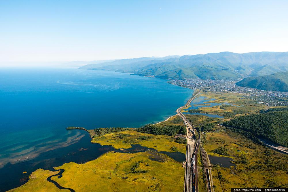 Шаманский мыс — самая западная точка Байкала