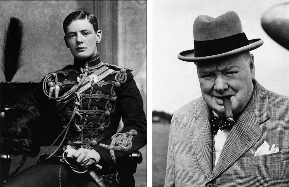 Уинстон Черчилль, бывший премьер-министр Великобритании