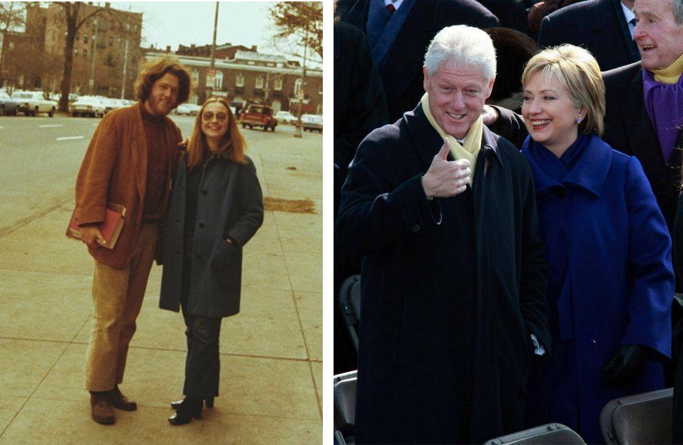 Билл и Хиллари Клинтоны, 42-ой президент и 67-ая госсекретарь США