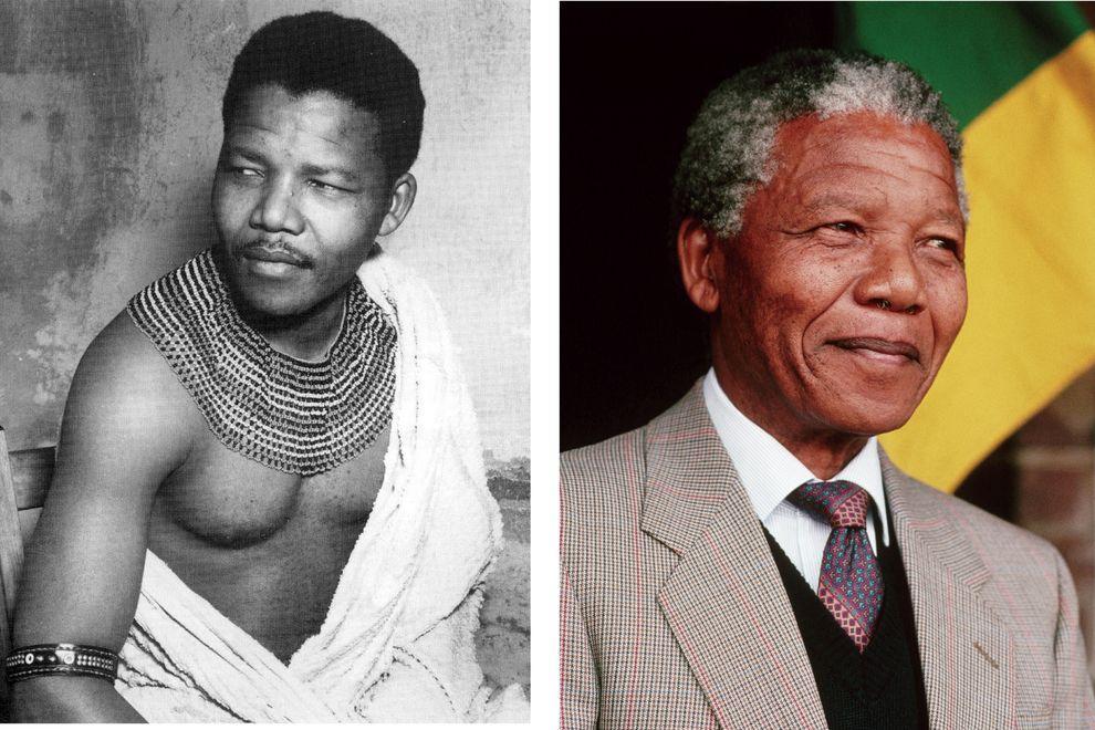 Нельсон Мандела, борец с апартеидом и бывший президент ЮАР