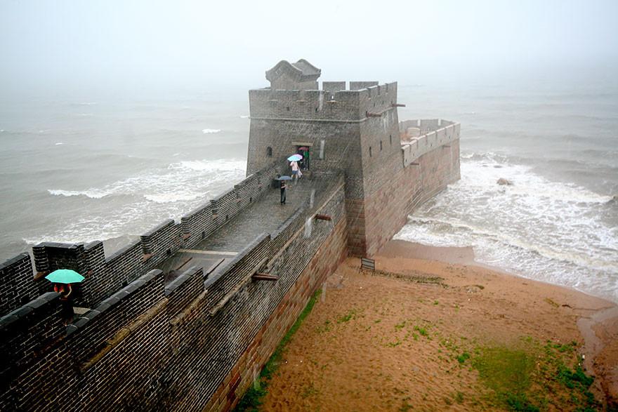 Место, где заканчивается Великая китайская стена