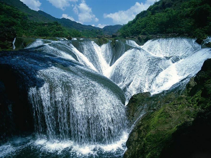 Водопад Жемчужина, долина Цзючжайгоу
