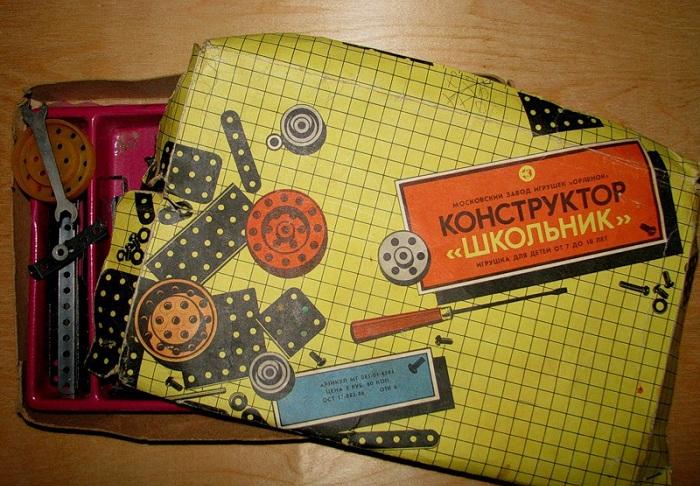 Советские игрушки. Конструктор.