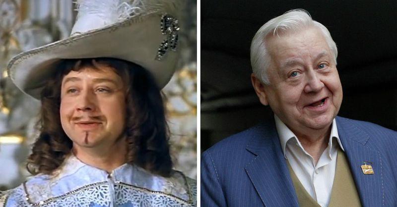 Олег Табаков — король Людовик XIII