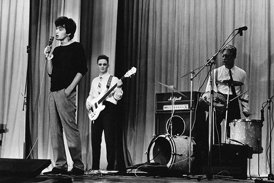 Ленинградский рок-клуб. Виктор Цой. 1984 год.