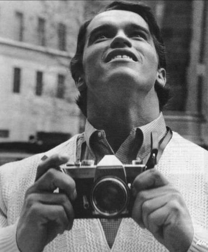 Первая поездка Шварценеггера в Нью-Йорк, 1968 год.