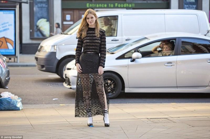 Высокая мода на улицах мегаполиса