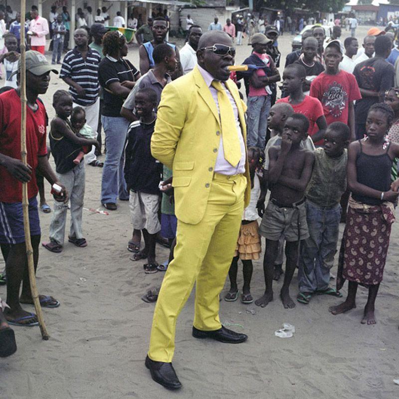 Общество элегантных людей — высокая мода Конго