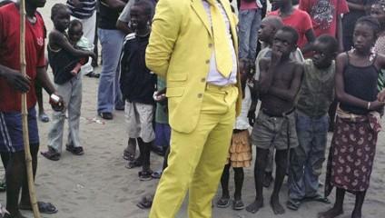 Общество элегантных людей - высокая мода Конго