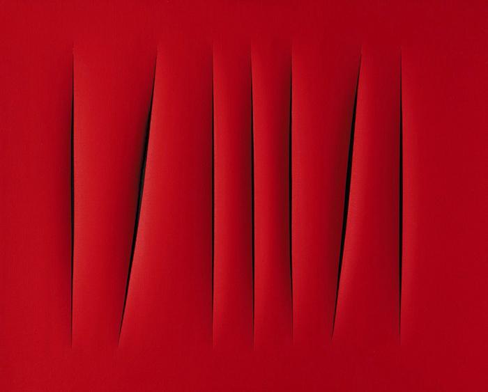 «Пространственная концепция, Ожидание» Лучо Фонтана – $1,5 млн