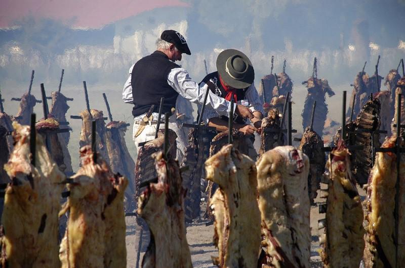 20. Самое большое барбекю 20 марта 2011 года более 30000 человек воплотили в жизнь ночной кошмар вегетарианцев, изжарив почти 14 тонн говядины.