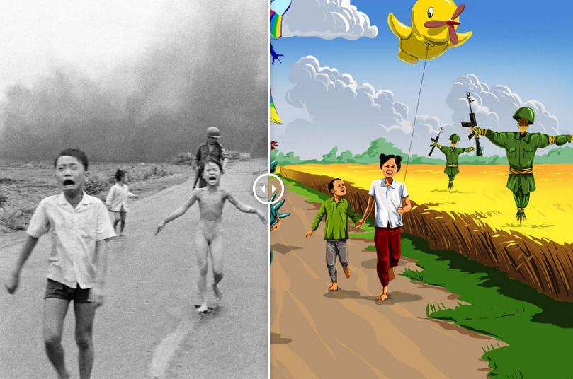 Дети войны. Скандальные иллюстрации о светлом будущем, которого никогда не будет