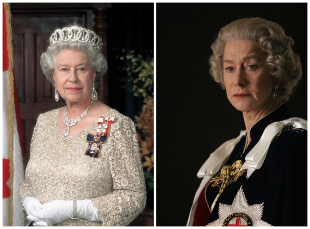 Елизавета II и Хелен Миррен, «Королева»
