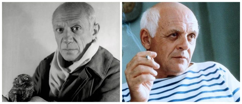 Пабло Пикассо и Энтони Хопкинс, «Прожить жизнь с Пикассо»