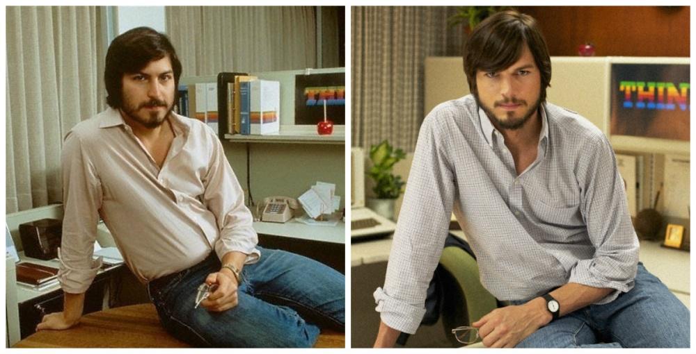 Стив Джобс и Эштон Кутчер, «Джобс: Империя соблазна»