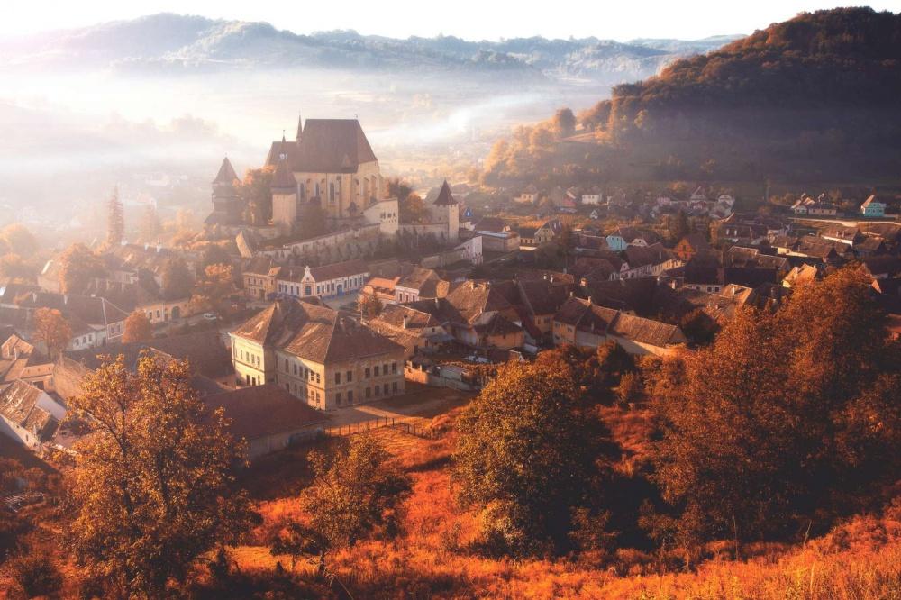 Бьертан, Трансильвания