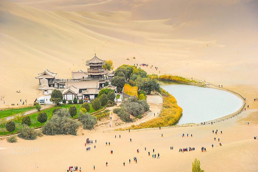 Озеро Полумесяца, Дуньхуан