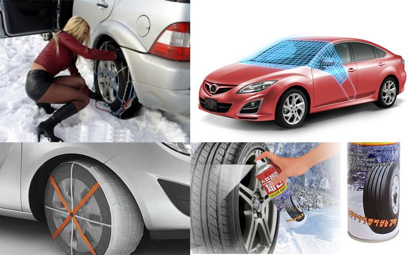 Готовь сани сейчас! Необычные автоаксессуары, которые спасут вас зимой