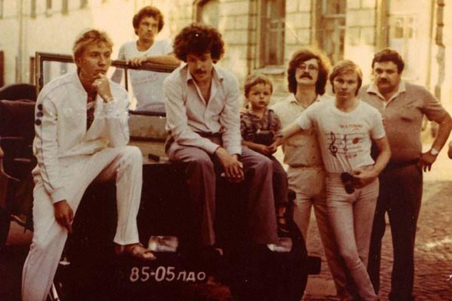 """""""Машина Времени"""" 1982 год."""