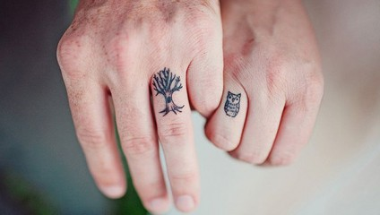 20 храбрых пар, сделавших свадебные татуировки вместо колец