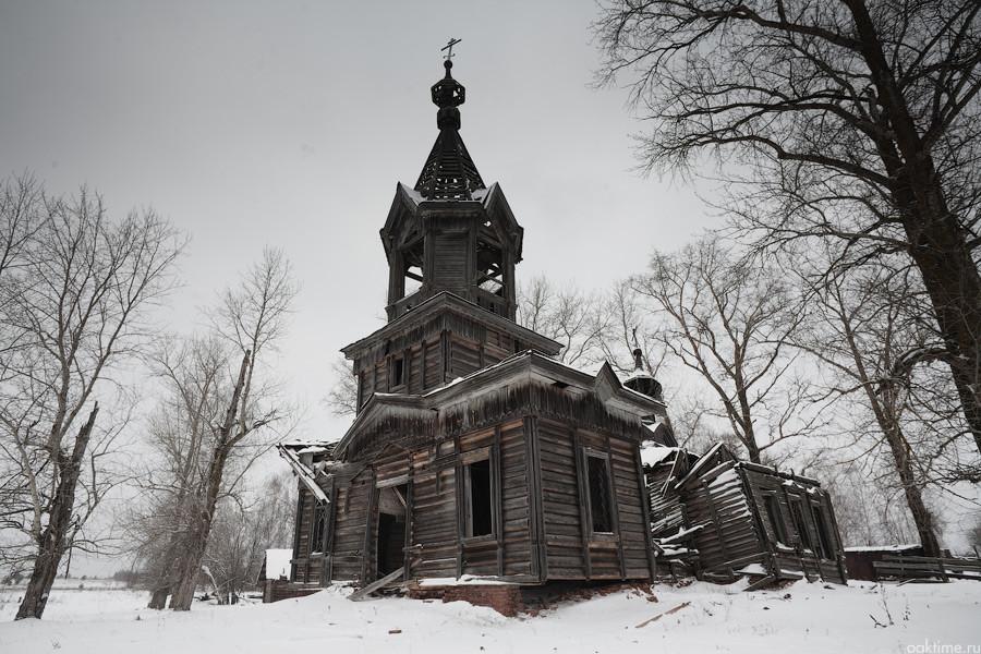 Старинные русские деревни, которые оказались полностью заброшенными