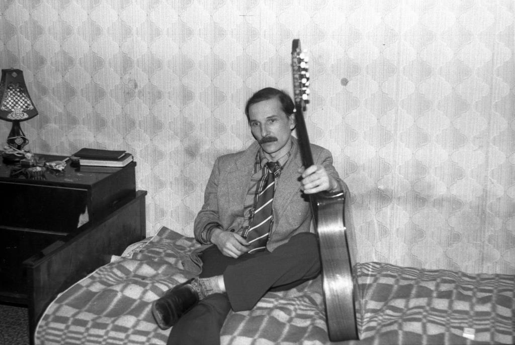 Пётр Мамонов. Москва, 1985 год.